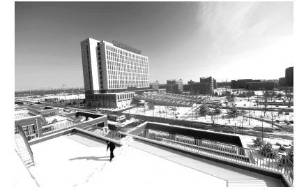 北京城市学院顺义校区开启新校区内的新生活--新闻