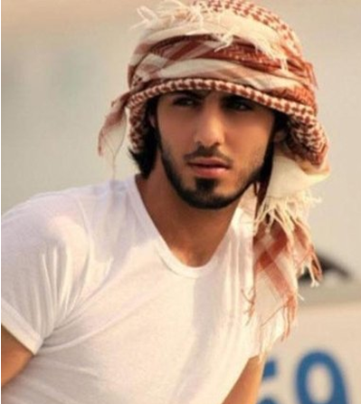 迪拜/阿联酋男子因长得太帅遭沙特驱逐