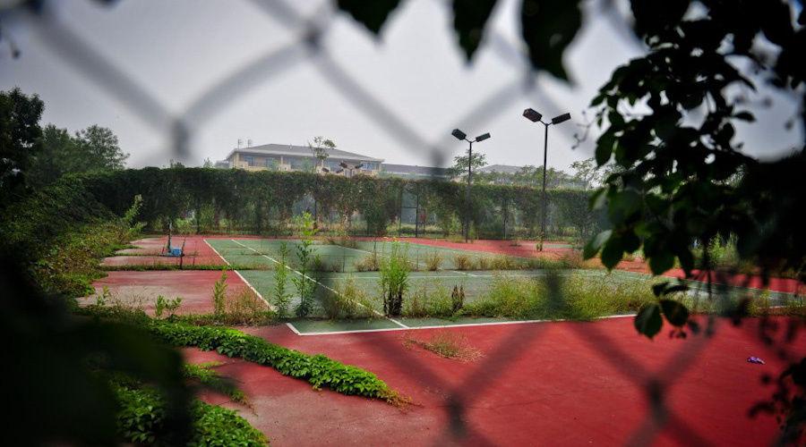 看天津 亚洲最大别墅区 的现状 蜜蜂 天下人间乐园
